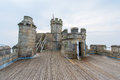 Pendennis Castle keep Royalty Free Stock Photo