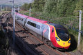 Pendolino on West Coast Main Line. Royalty Free Stock Photography
