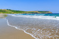 Pendower beach cornwall england on the roseland peninsual uk Royalty Free Stock Photos