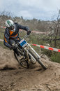Penela portugal september lino correia during the th stage of the taca de portugal downhill vodafone on september in penela Stock Photography