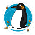 Penguin fat Royalty Free Stock Photo