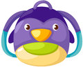 Penguin kid bag Royalty Free Stock Photo