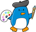 Penguin Vector Illustration Stock Photo