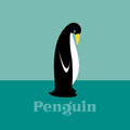 Penguin vector image of an Royalty Free Stock Images