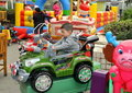 Pengzhou, China: Child in Play Car Stock Photos
