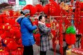 Pengzhou, China: Chinese New Year Stock Photos