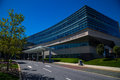 Penn State Hershey Cancer Institute building Royalty Free Stock Photo