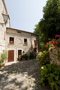 Pennabilli, old village in Italy Royalty Free Stock Photography