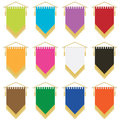 Pennants Stock Images