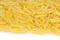 Penne pasta raw Stock Images