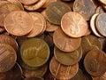 Pennies Stock Photos