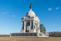 Pennsylvania Monument at Gettysburg National Battlefield Royalty Free Stock Photo