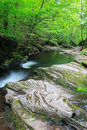 Pennsylvania Rocky Mountain Stream Royalty Free Stock Photo