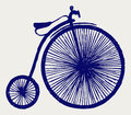 Penny farthing Royalty Free Stock Photo