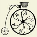 Penny-Farthing Bicycle Vector 03 Royalty Free Stock Photo