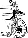 Penny Farthing High Roller Royalty Free Stock Photo