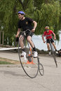 Penny Farthing World Championship Royalty Free Stock Photo