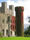 Penrhyn Castle in Wales, UK Stock Photo