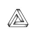 Penrose triangle illustration
