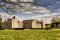 Penshurst Place, Manor House at Kent, Uk Royalty Free Stock Photo