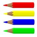 Pensils Royalty Free Stock Image