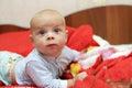 Pensive Baby Boy