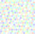 Pentagon pattern. Seamless vector
