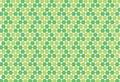 Pentagon shape texture