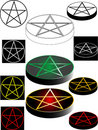 Pentagram Royalty Free Stock Photos