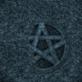 Pentagram background Stock Image
