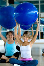People in aerobics class Royalty Free Stock Photos