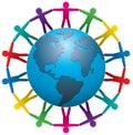 People around the world Royalty Free Stock Photo