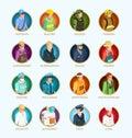 People Avatar Isometric Set