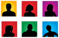 People avatars Royalty Free Stock Images