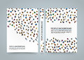 People background banner, View from above Office workers blank book, A4 size, Vector illustration