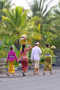 People from bali Royalty Free Stock Photo