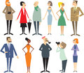 People characters Royalty Free Stock Image