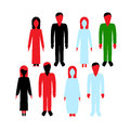 People in clothes Royalty Free Stock Photo
