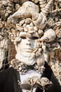People in costumes and masks on Carnival in Venice Royalty Free Stock Photo