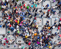 People crowd texture Royalty Free Stock Photo