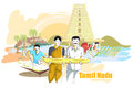 People and Culture of Tamil Nadu, India Royalty Free Stock Photo