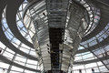 People cupola top reichstag building berlin Royalty Free Stock Photography