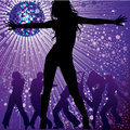 People dancing in night-club Royalty Free Stock Images