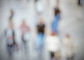 People details abstract intentionally blurred background post production with colors Stock Photography