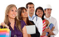 People in different professions Royalty Free Stock Photography