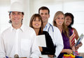 People with different professions Stock Photos