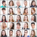 stock image of  People expressing different emotions