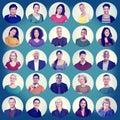 People Faces Portrait Multieth...