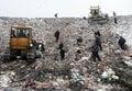People In Garbage Dump