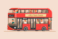 People go on the red tourist bus and take pictures of landmarks